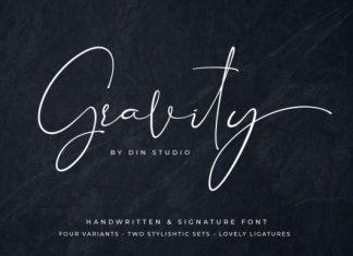 Gravity Font