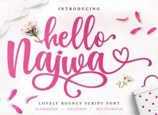 Hello Najwa Font