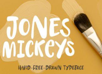 Jones Mickeys Font