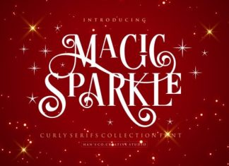 Magic Sparkle Font