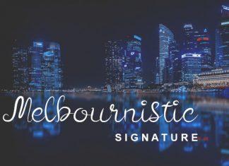 Melbournistic Font
