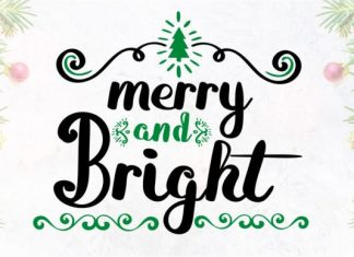8 Cheerful Christmas Fonts