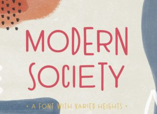 Modern Society Font