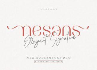 Nesans Font