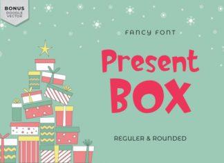 Present Box Font