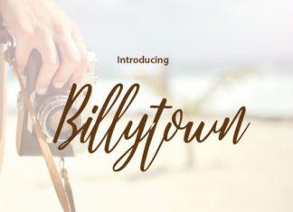 Billytown Font