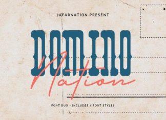 Domino Nation Font