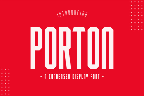 Porton Font