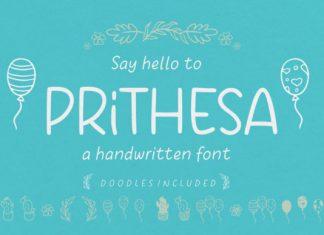 Prithesa Font