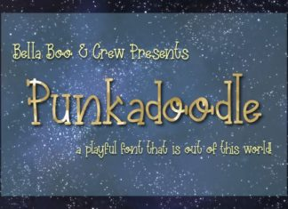 Punkadoodle Font