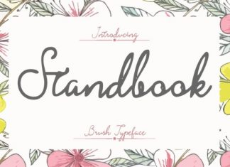 Stand Book Font