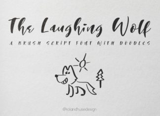 The Laughing Wolf Font