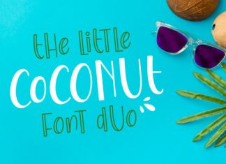The Little Coconut Font