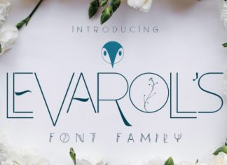 Leva Rolls Font