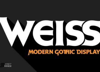 Weiss Font