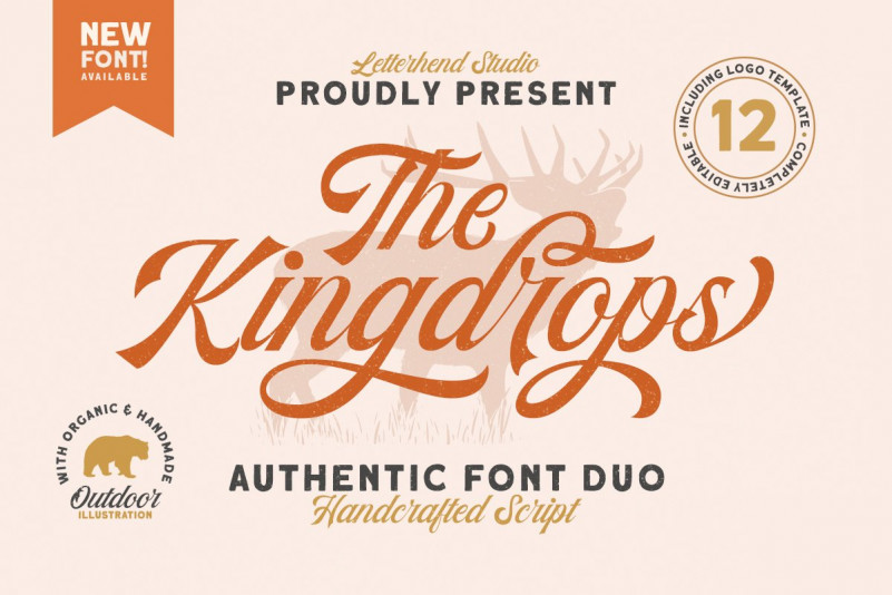 The Kingdrops Font