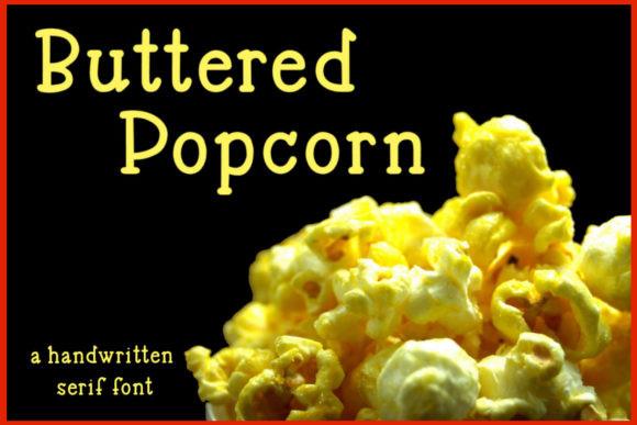 Buttered Popcorn Font