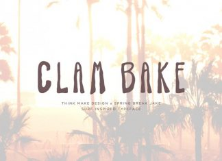 Clam Bake Font