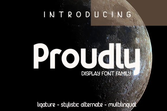 Proudly Font