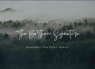 The Barthon Font