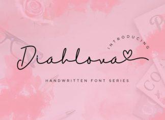 Diahlova Font