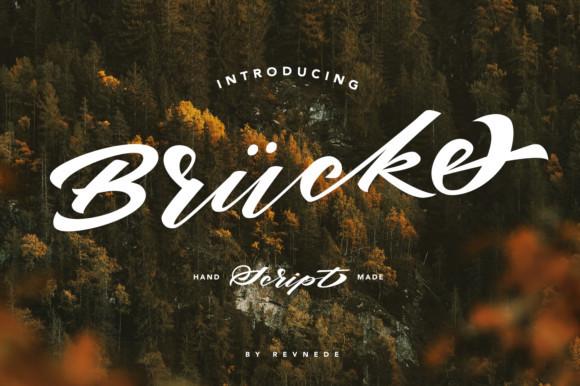 Brucke Font