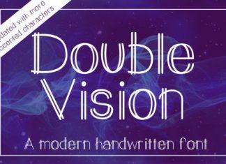 Double Vision Font