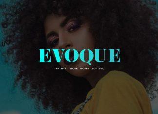 Evoque Font