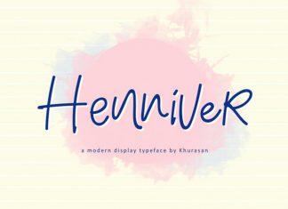 Henniver Font