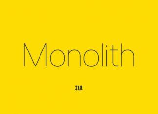 Monolith Font