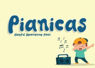 Pianicas Font