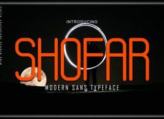 Shofar Font
