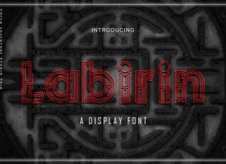Labirin Font