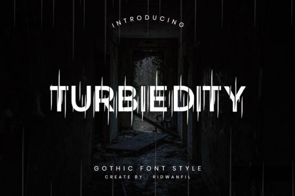 Turbiedity Font