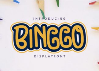 Binggo Font