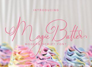 Magic Butter Font