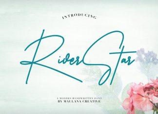 Riverstar Signature Font