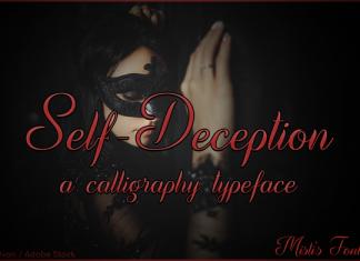 Self-Deception Font
