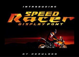Speed Racer Font