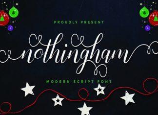 Nothingham Font