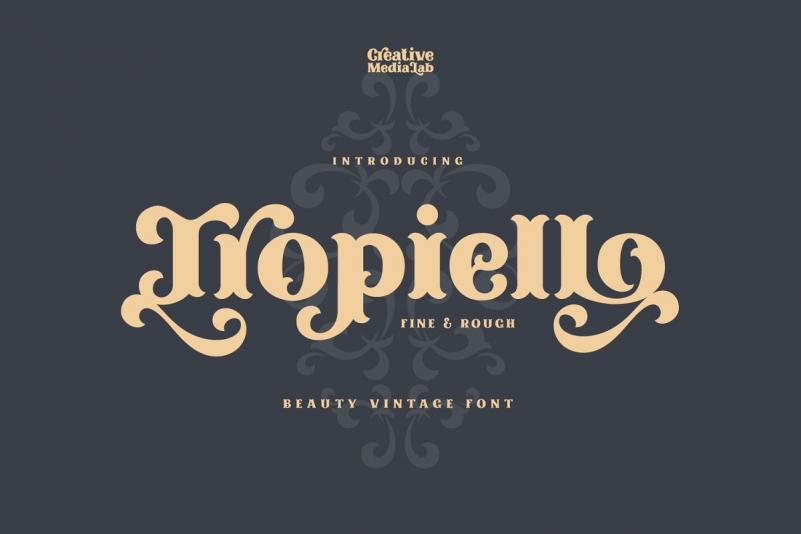 Tropiello Font
