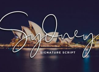 Sydney Signature Font