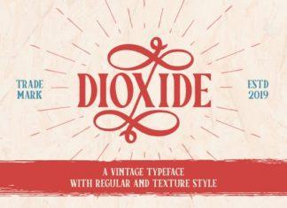 Dioxide Font
