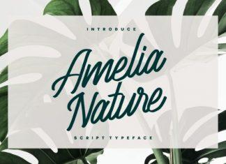 Amelia Nature Font