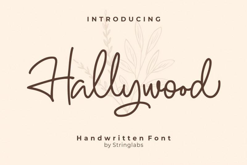 Hallywood Font