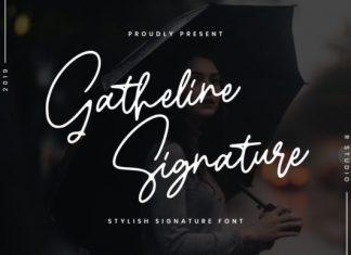 Gatheline Font
