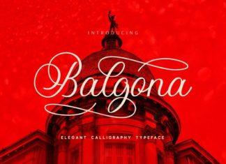 Balgona Font