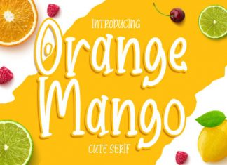 Orange Mango Font