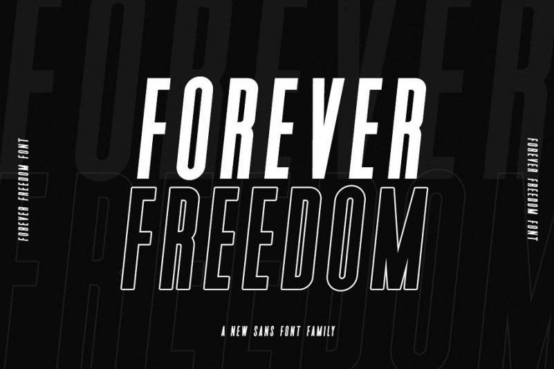 Forever Freedom Font