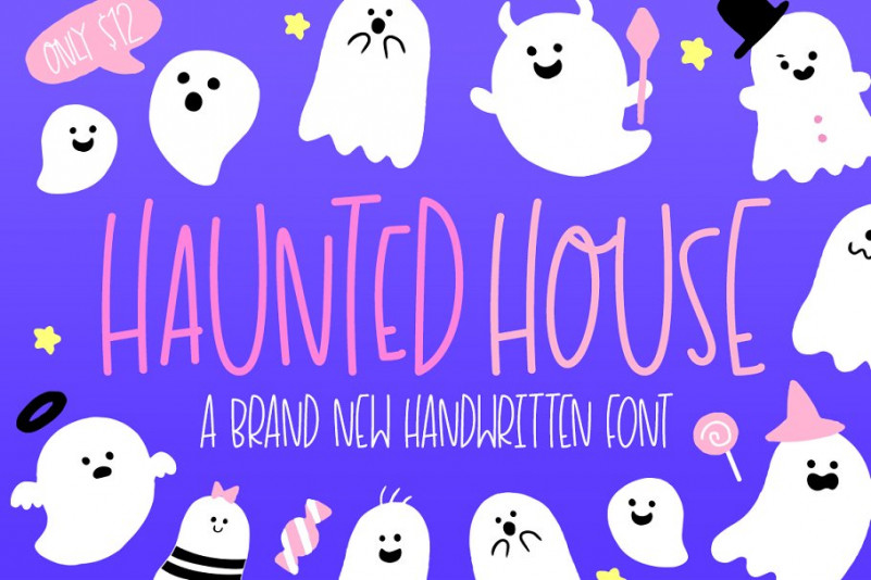 Haunted House Font